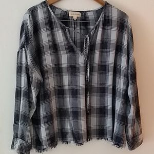 Cloth stone blouse